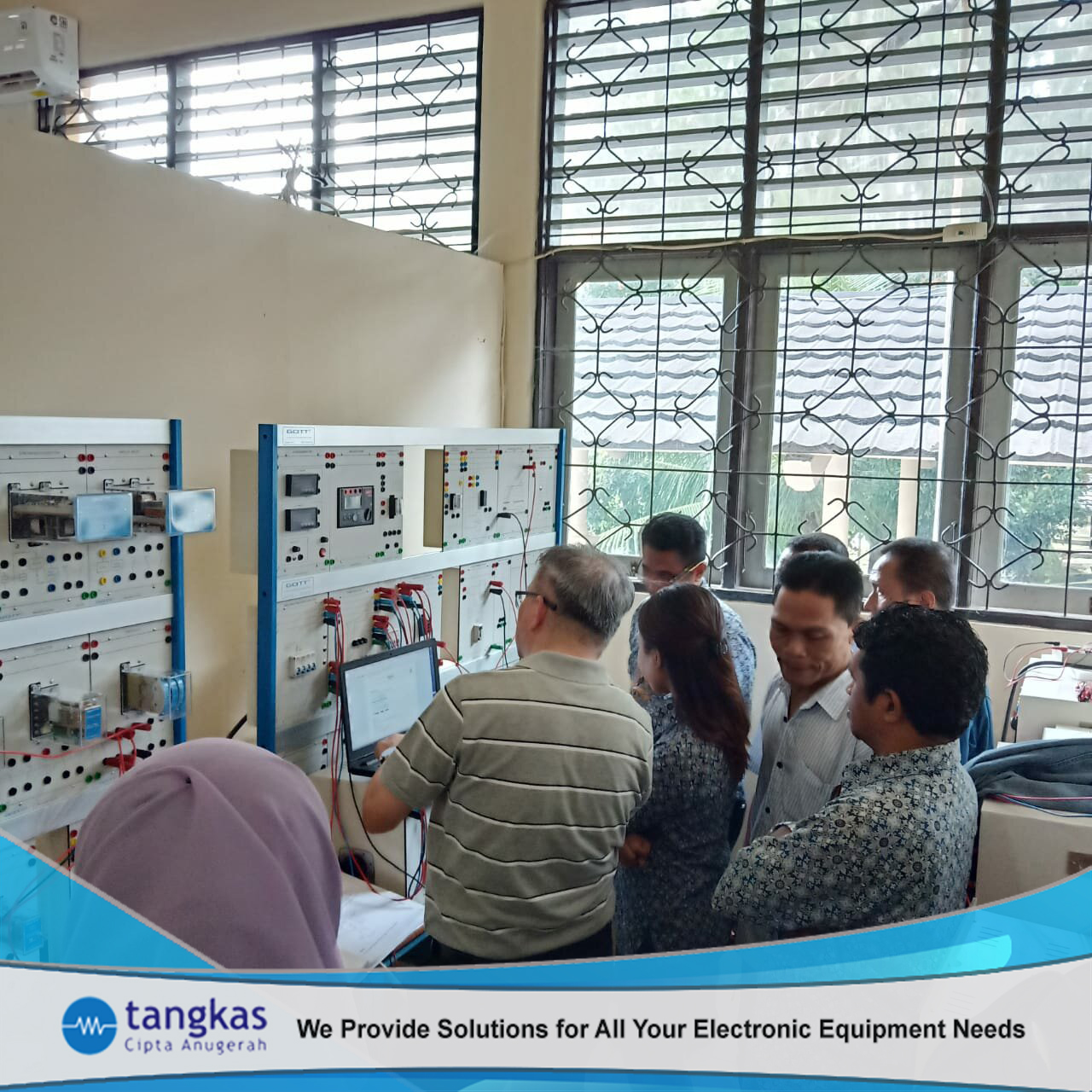 Pelatihan Electrical Transmission Training System dan Generator sets and Synchronising Board | Tangkas Cipta Anugerah