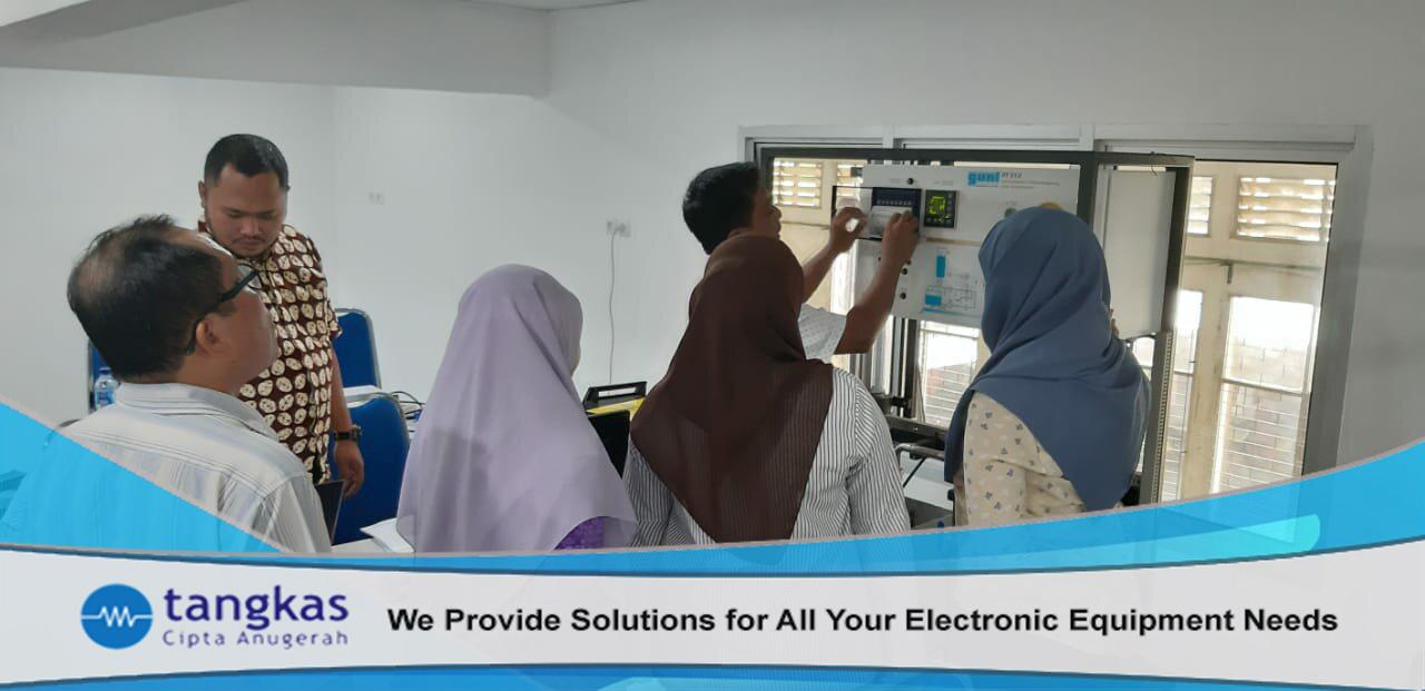 Training Produk GUNT RT 500 Series di PNJ | Tangkas Cipta Anugerah